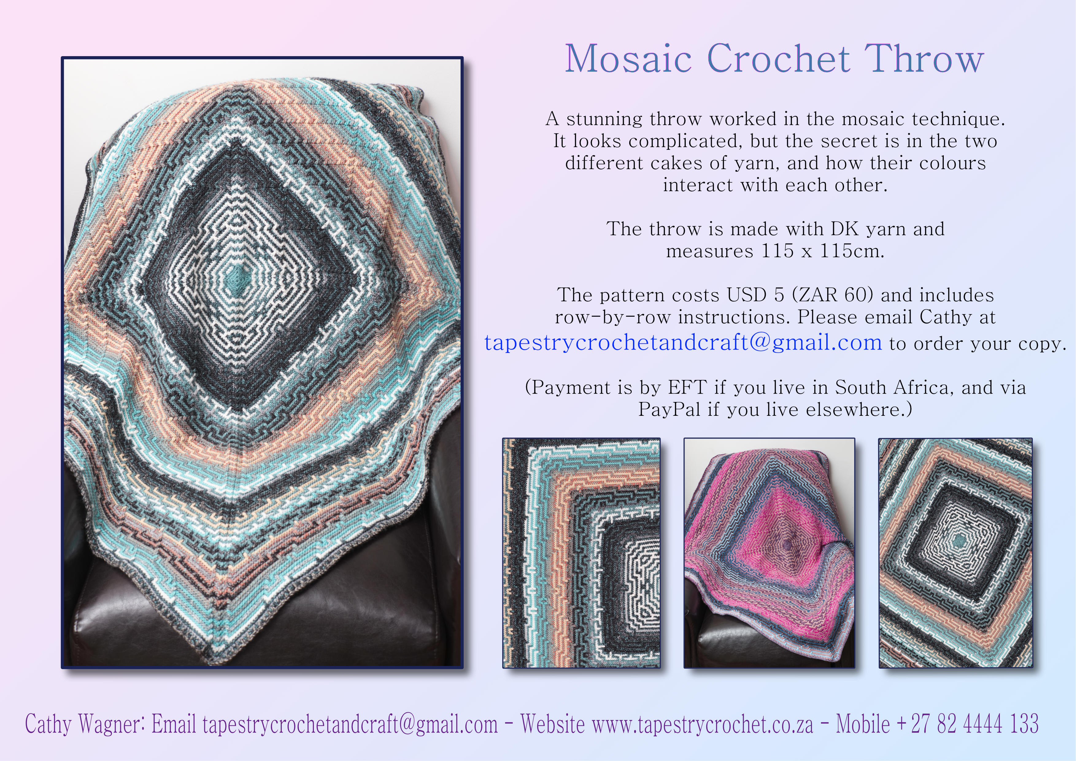 Flyer for Mosaic Throw